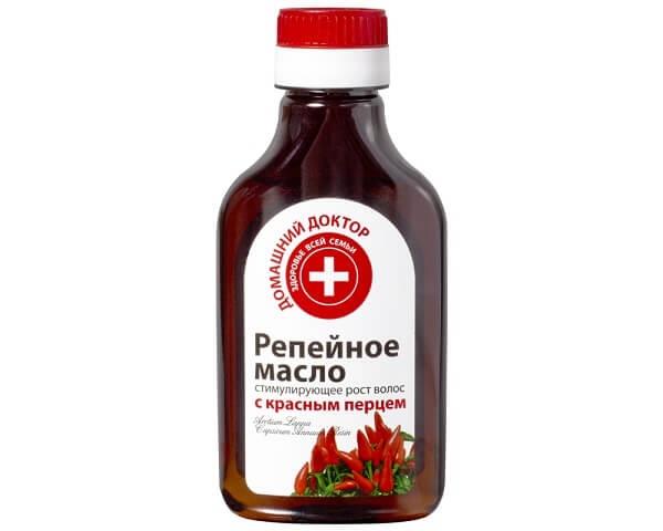 репейное масло для народных рецептов от облысения