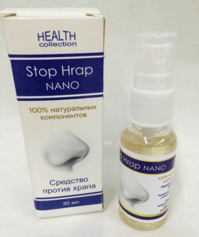 стоп храп нано