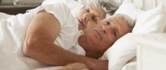 сон пожилых людей