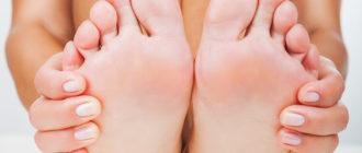 боли в пальцах ног