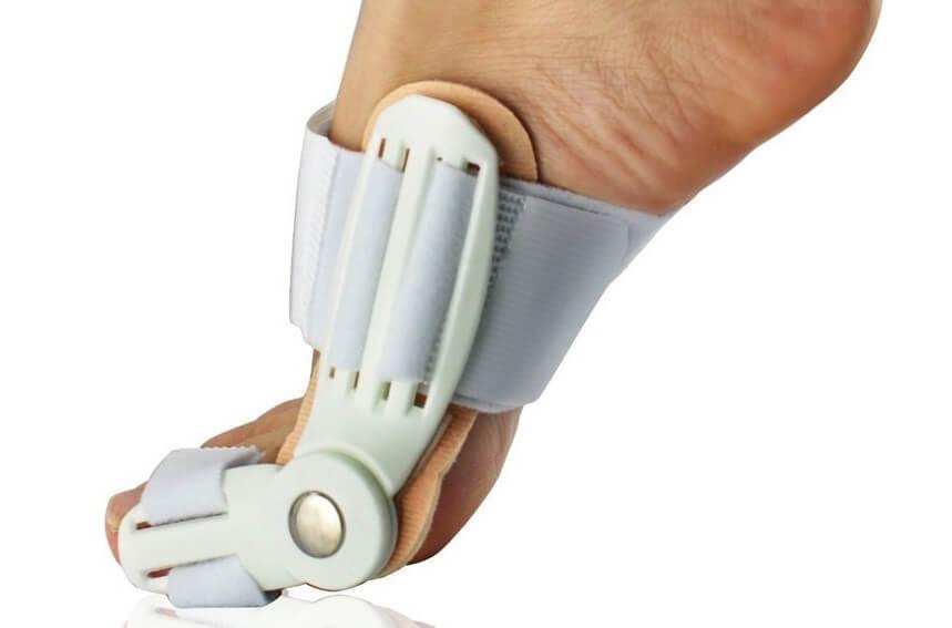 вальгусная шина на большой палец
