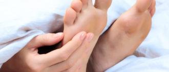 косточка на мизинце ноги