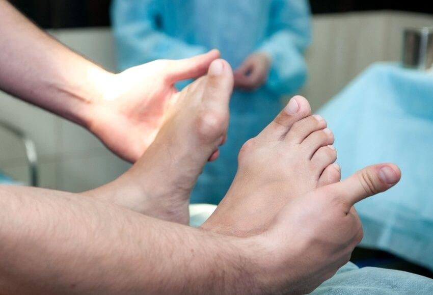 операция на шишки на ногах