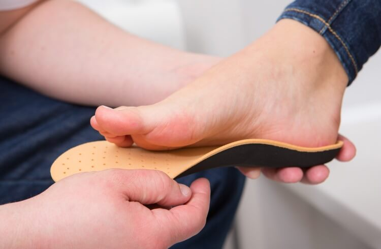 коррекция стопы при вальгусной деформации