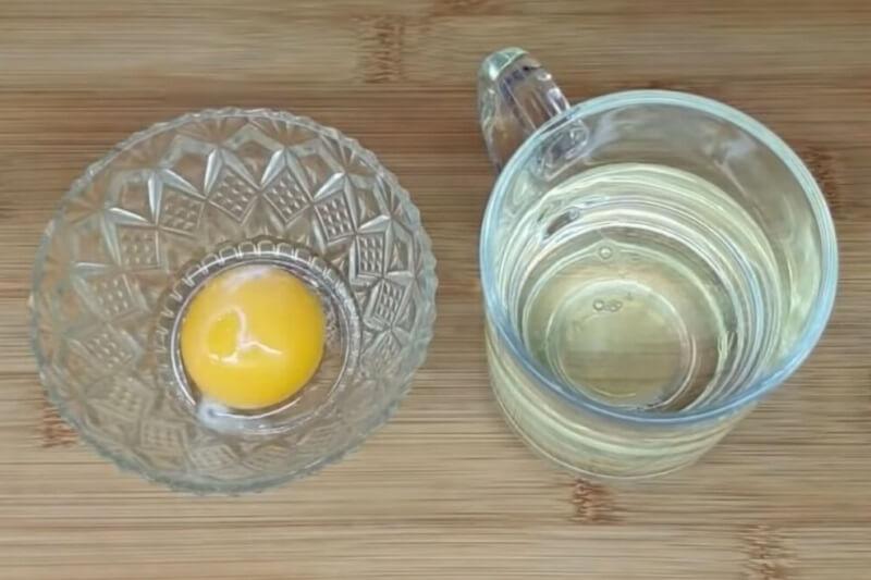 яйцо в уксусе от шпор