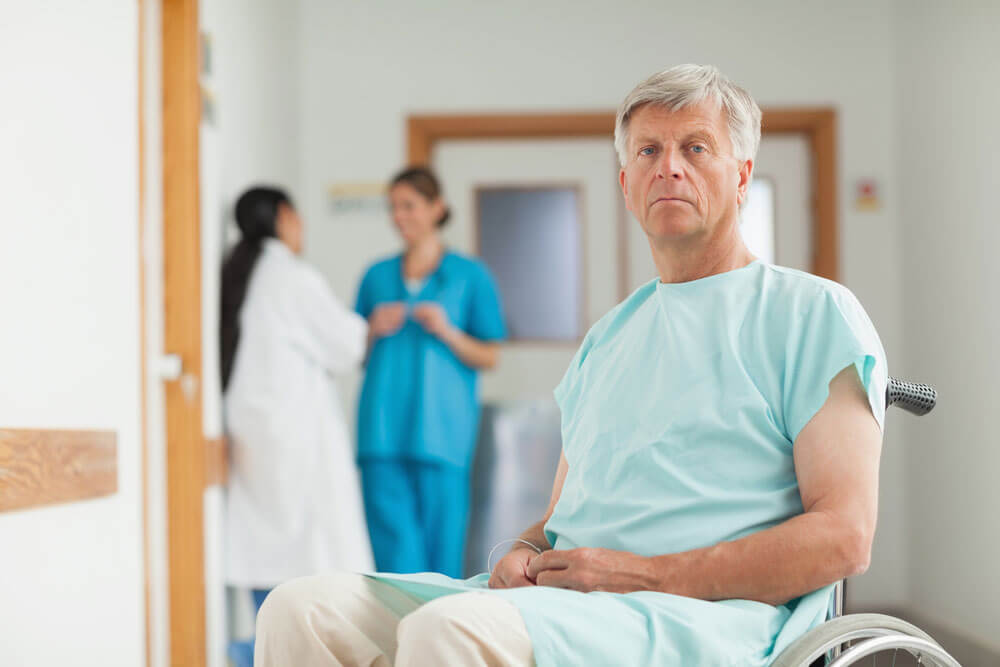 Пациент перед операцией